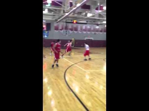 Jake cerota spins off a defender for 2