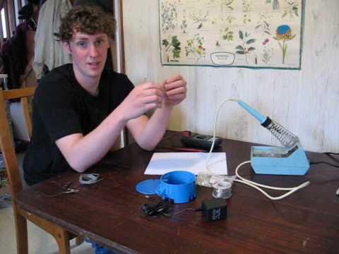 Como construir uma luminária com leds - Part 1