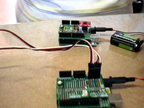 Rádio controle com acelerômetro