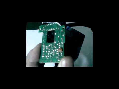 2ª Parte modificação da frequência do radio controle