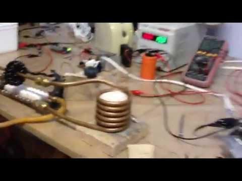Induction Heater melting aluminum