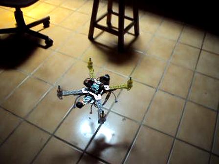 Quadricoptero na minha oficina