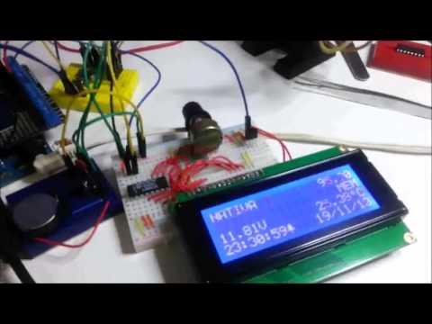 Radio FM - TEA5767 - Amplificador - VuMeter e LCD - Parte 7