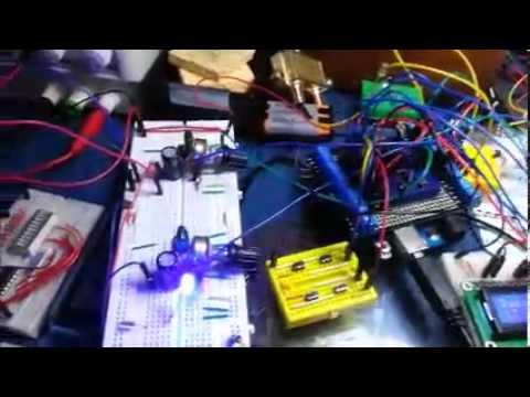 Radio FM - TEA5767 - Amplificador - VuMeter e LCD - Parte 2