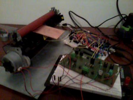 Laminadora de placa de circuito