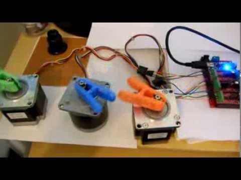 CNC 3 AXES - GRBL V8.c - Circuitar A4988 - Miltuino_com_br