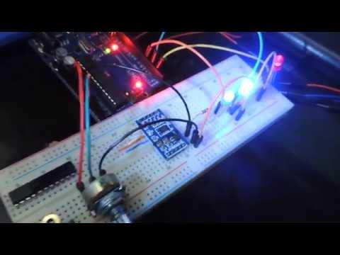 Arduino Uno + Leds + Potenciômetro = Sequência Binária FULL HD