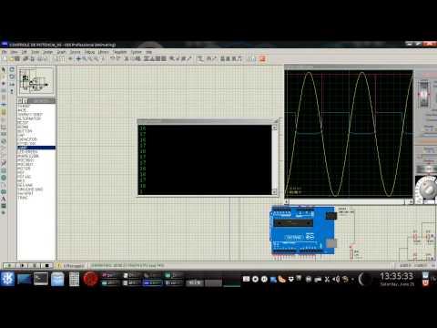 Dimmer com Triac e opto-acoplador para Arduino.