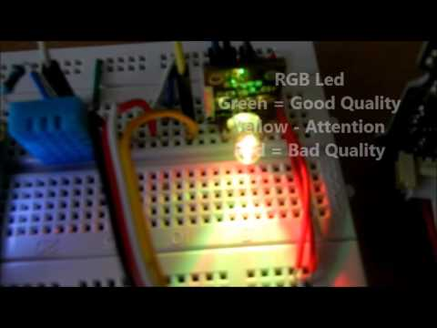Medição do Ambiente com Arduino