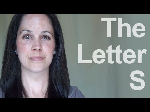 American English - How to Pronounce the Letter 'S'