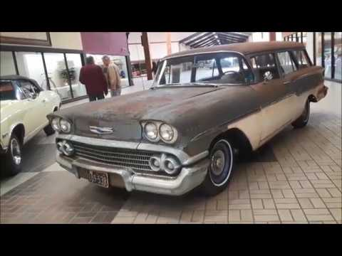 A Walk About A 1958 Chevy Yeoman 2 Door Wagon At the Classic Auto Mall