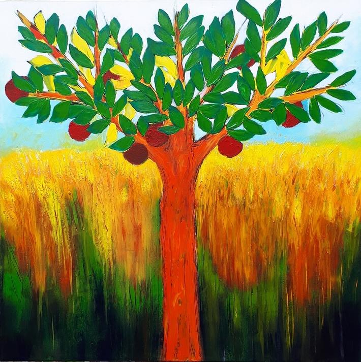 Albero con mele