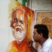 Artist Sujit Das