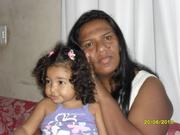 Daniele e sua filhinha Sara