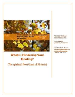 What Is Hindering Your Healing? (The Spiritual Root Cause of