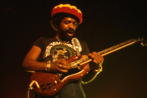 Donald Kinsey Touring with Peter Tosh