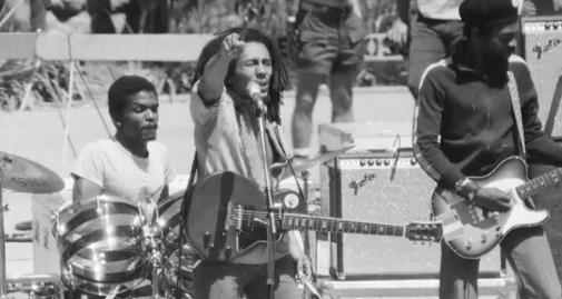 Donald Kinsey Touring with Bob Marley