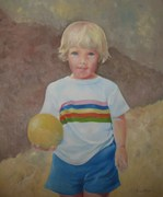 """Jamie"" Oil by Ellen Hirsh-Norton (1977)"