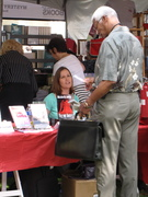 Booksigning at LA Times Festival of Books