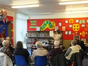 Pauline Rowson Hartlepool and Whitley Bay Library Visits