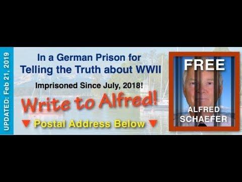 Letter from a German Prison Cell. Alfred Schaefer Political Prisoner