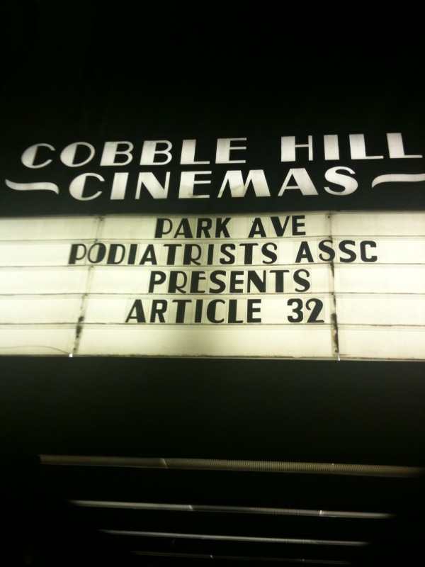 Cobble Hill Marquee 9-17-09