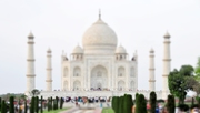 Tilt Shift Taj Mahal