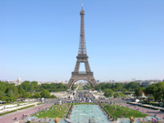 Tilt Shift Eiffel Tower