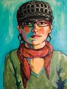 Self Portrait w/Hat