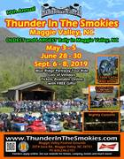 Thunder in the Smokies Summerg Motorcycle Rally 2019 -Maggie Valley, NC