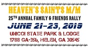 Heaven's Saints Family & Friends Rally -Helen, GA