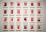 Collages Studies (Installation view)