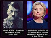 Hitler-Clinton