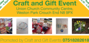 Summer Craft and Gift Event, Union Church, Weston Park, Sat 15/6 12:30