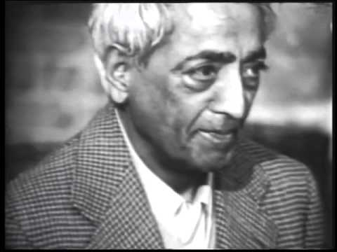 Jiddu Krishnamurti - The Real Revolution