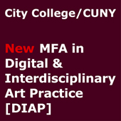 CALL: New MFA in Digital and Interdisciplinary Art and Art Residency
