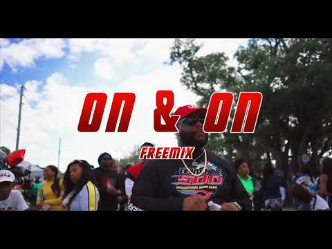 Bustafree (on and on remix)official video