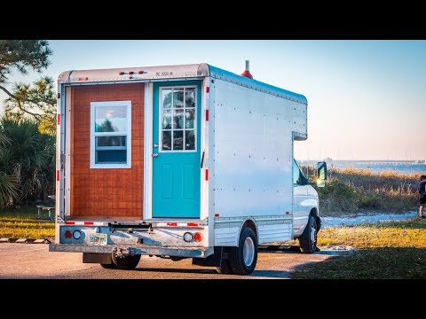Tour of Our Box Truck to Tiny House Conversion