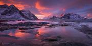 Otro amanecer en Lofoten