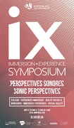 IX Symposium at Montreal's Society For Arts and Technology