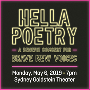 Hella Poetry: A Benefit Concert for Brave New Voices
