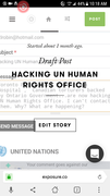 After UN encouraged me to expose to protect Human Rights...