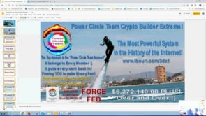 Only Available Here. Power Circle Team Crypto Builder, Force Fed - Self Building Webinar Replay 10th April 2019