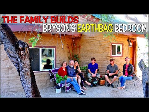 The Family Builds Bryson's Earth Bag Bedroom  | $4650 Total Cost for Expenses | Full Version Movie