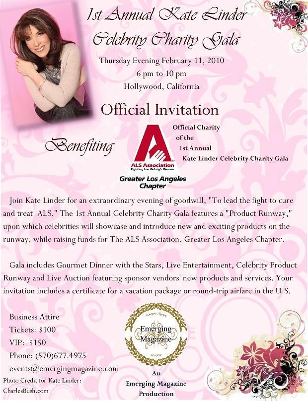 1st Annual Kate Linder Celebrity Charity Gala