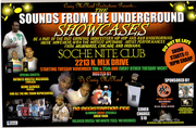 SOUNDS FROM THE UNDERGROUND SHOWCASE