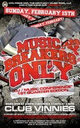 1st Qtr Music Breakers Only, DJ Music Conference