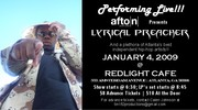 Afton Live Hip-Hop Show! Lyrical Preacher rockin the stage @ 8:45!