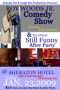 SOMETHING REAL FUNNY COMEDY SHOW & AFTER PARTY FEAT.ROY WOODS JR