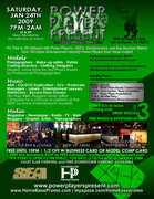 Power Players Present: Music, Modeling, Media Networking Event & VIP After Party